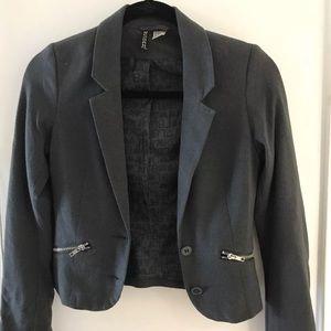 H&M Knit Blazer- Grey